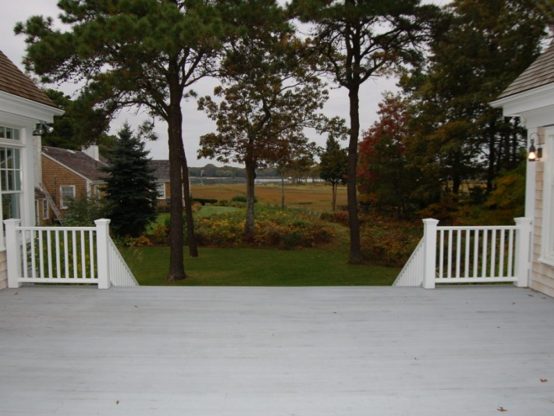 Newly remodeled deck
