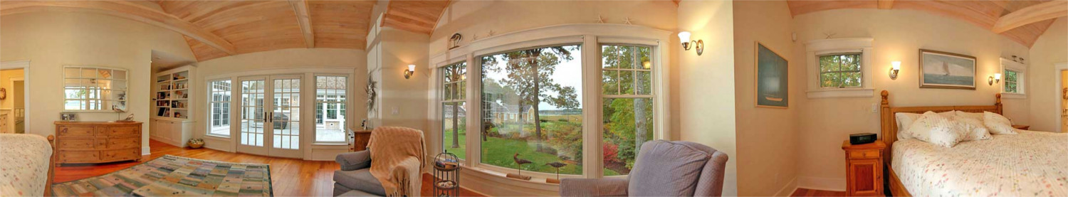 Interior Of New Home Osterville, Panorama View